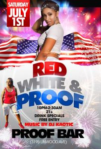 Red, White & Proof