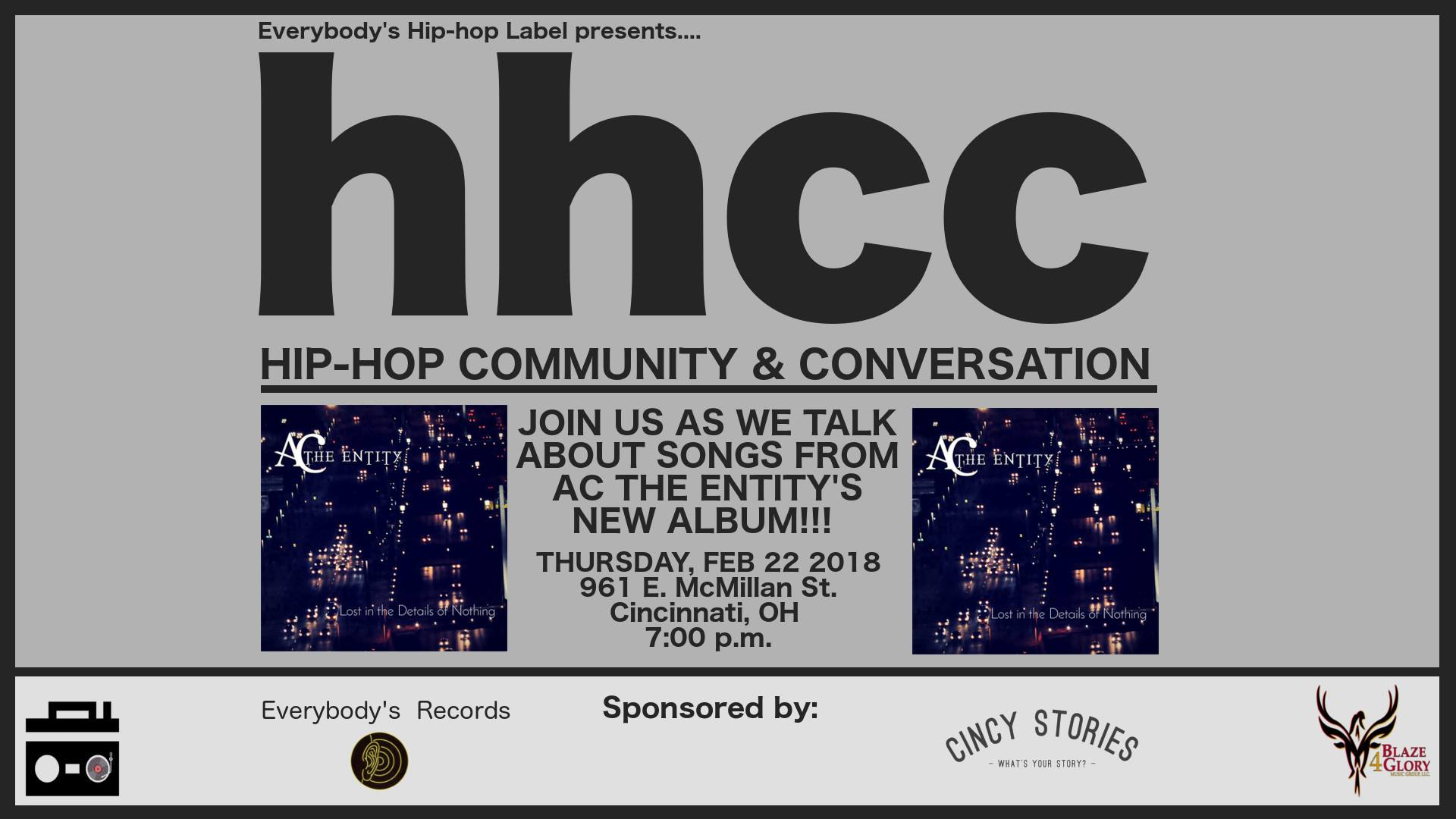 Hip-Hop Community & Conversation