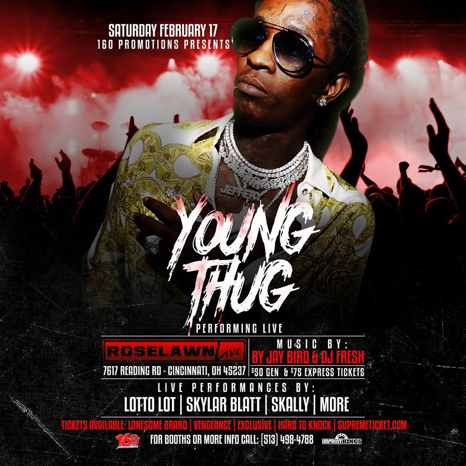 Young Thug - Roselawn Live