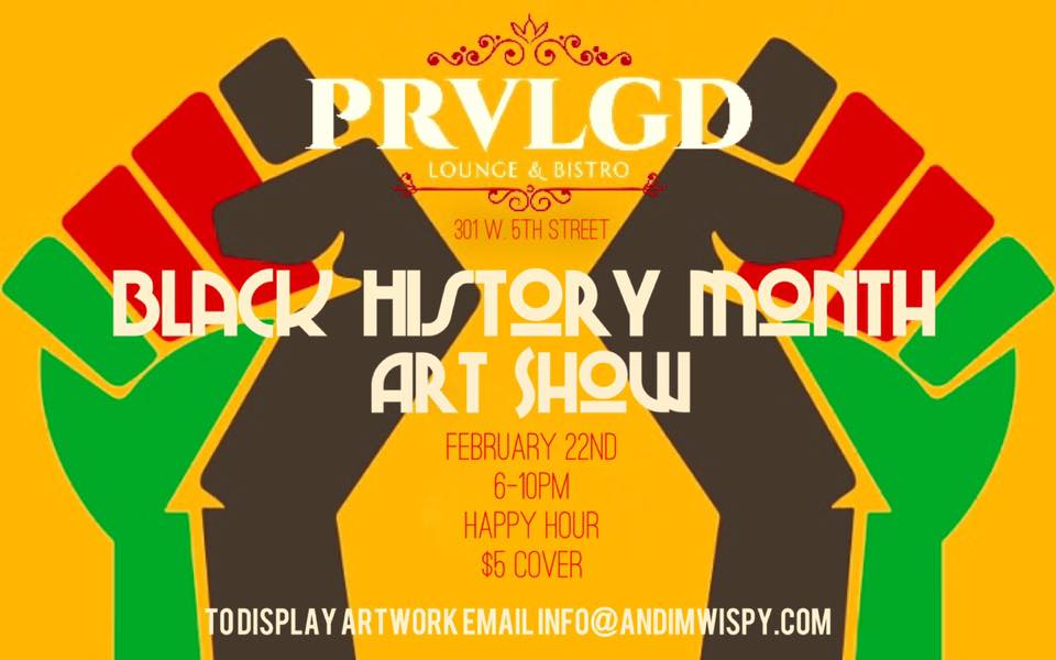 Black History Month Art Show